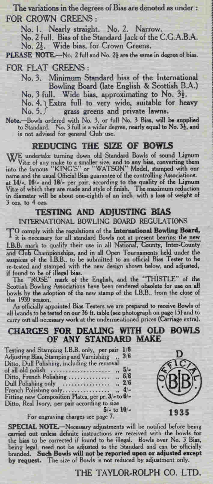 The sport of bowls article 2 re testing lawn bowls ibb35 geenschuldenfo Choice Image