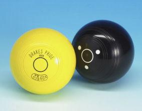 Brand New Bowlers Crown Green Bowls Bowling Jack Bowl Black Or Yellow