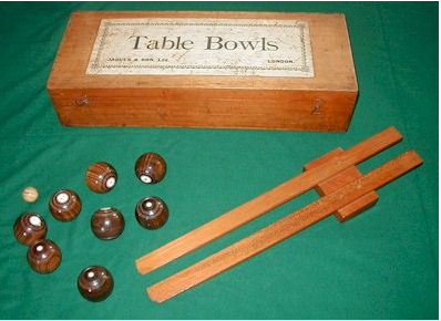 Old Jaques Table Bowls