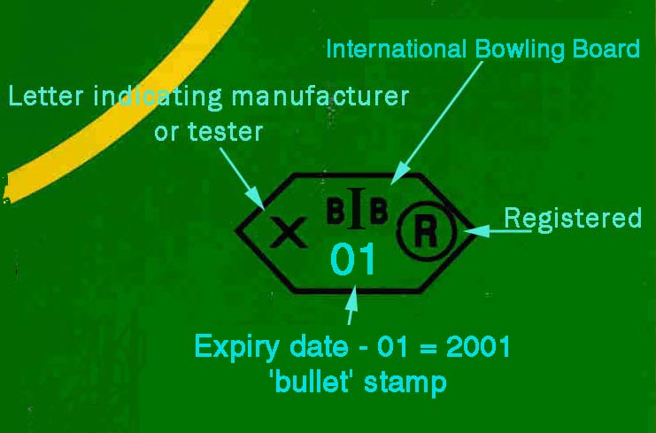 The Sport of Bowls - Bowls Date Stamp