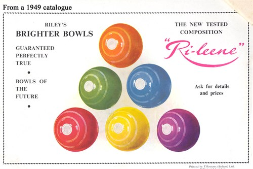 Coloured Bowls 1949